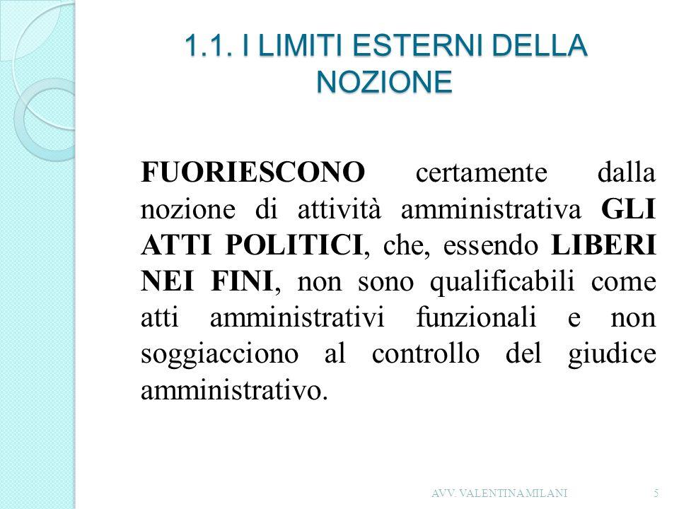 1.2.I LIMITI INTERNI DELLA NOZIONE Vi è una ZONA DI CONFINE costituita dalla ATTIVITA CD.