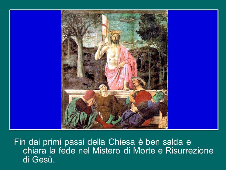 La prima: la forma della professione di fede, ad esempio, è quella che abbiamo appena ascoltato, oppure quella della Lettera ai Romani in cui san Paol