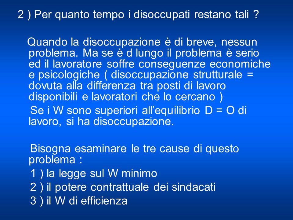 Il collocamento = processo con cui un lavoratore trova il giusto lavoro è difficile ed in Italia non funziona bene ( uffici del lavoro, formazione ecc.) Il lavoratore a difficoltà a trovare limpresa e limpresa ha difficoltà a trovare i lavoratori