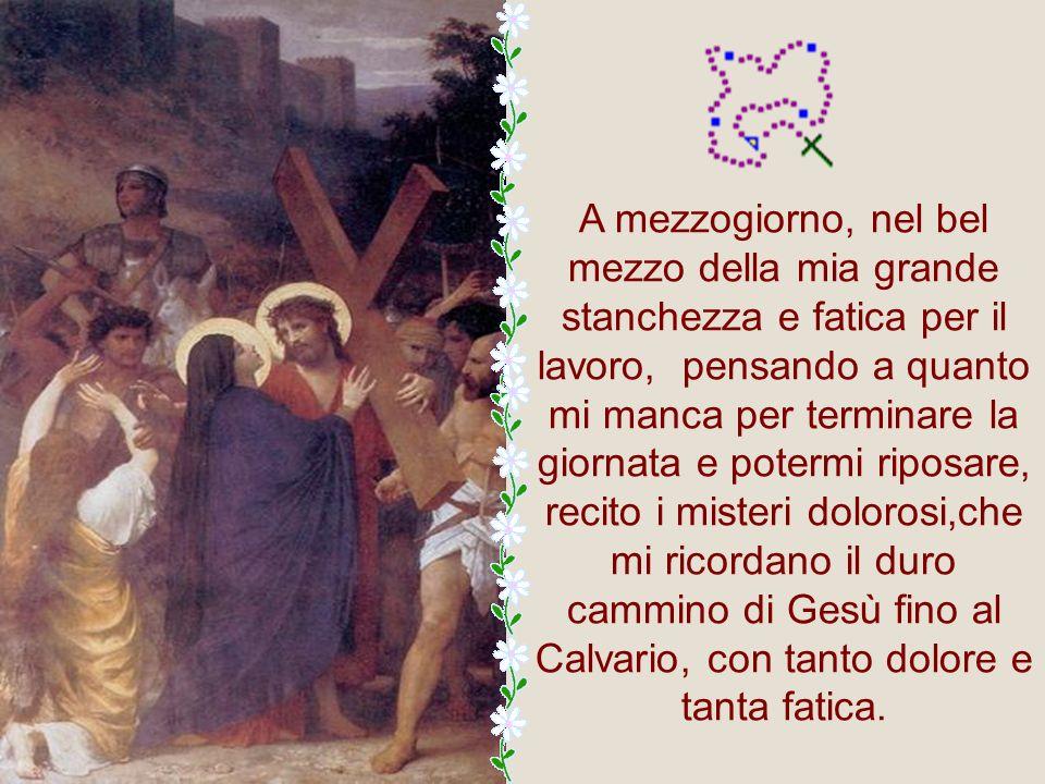 Il Rosario di Nostra Signora ha 15 Misteri che sono: 5 gioiosi, 5 dolorosi e 5 gloriosi. La mattina, quando mi alzo per cominciare la lotta della gior