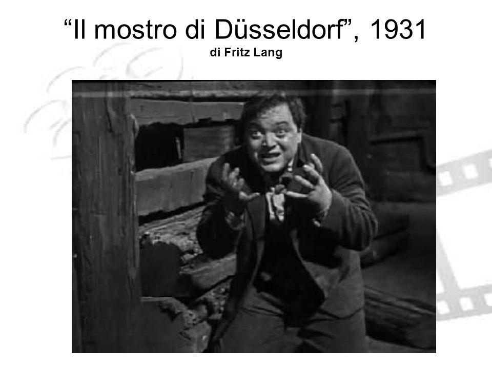 Il mostro di Düsseldorf, 1931 di Fritz Lang