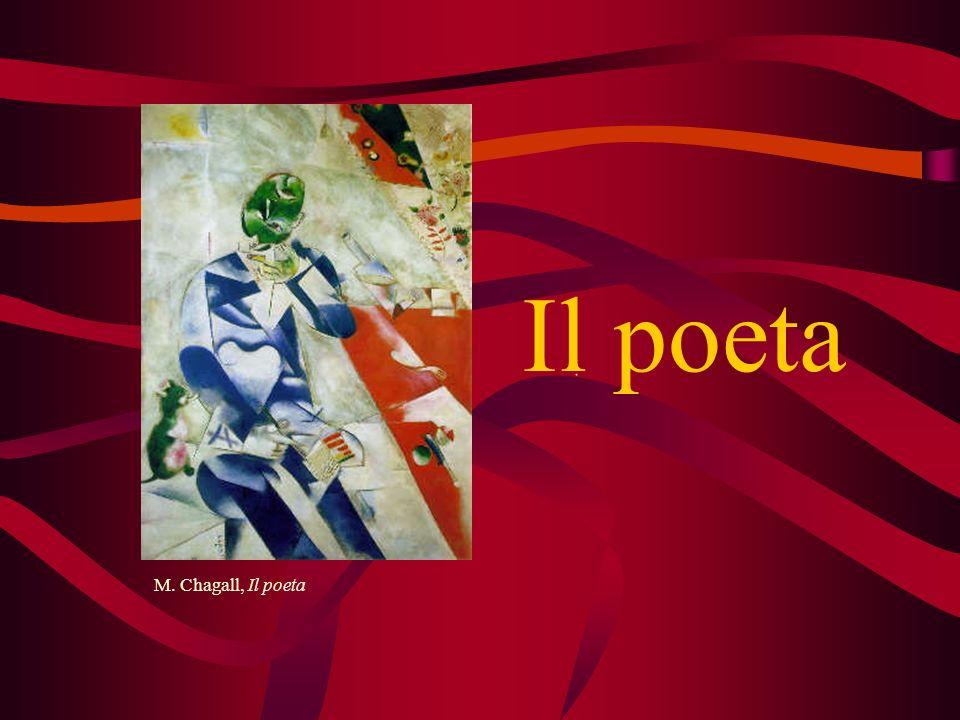 Il poeta M. Chagall, Il poeta