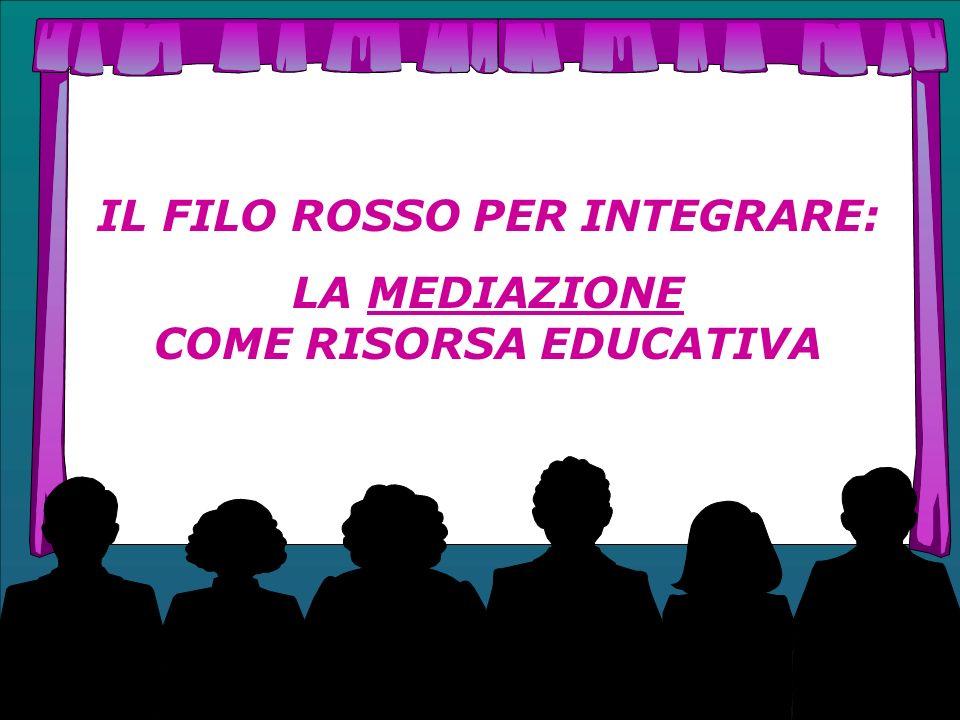 IL FILO ROSSO PER INTEGRARE: LA MEDIAZIONE COME RISORSA EDUCATIVA