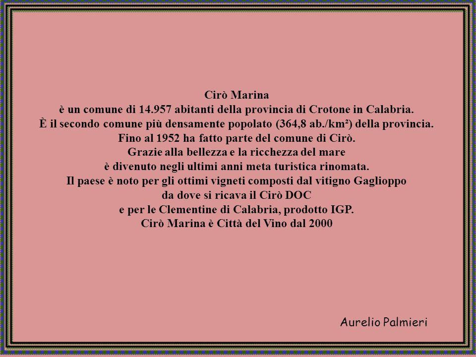 Aurelio Palmieri CIRO MARINA