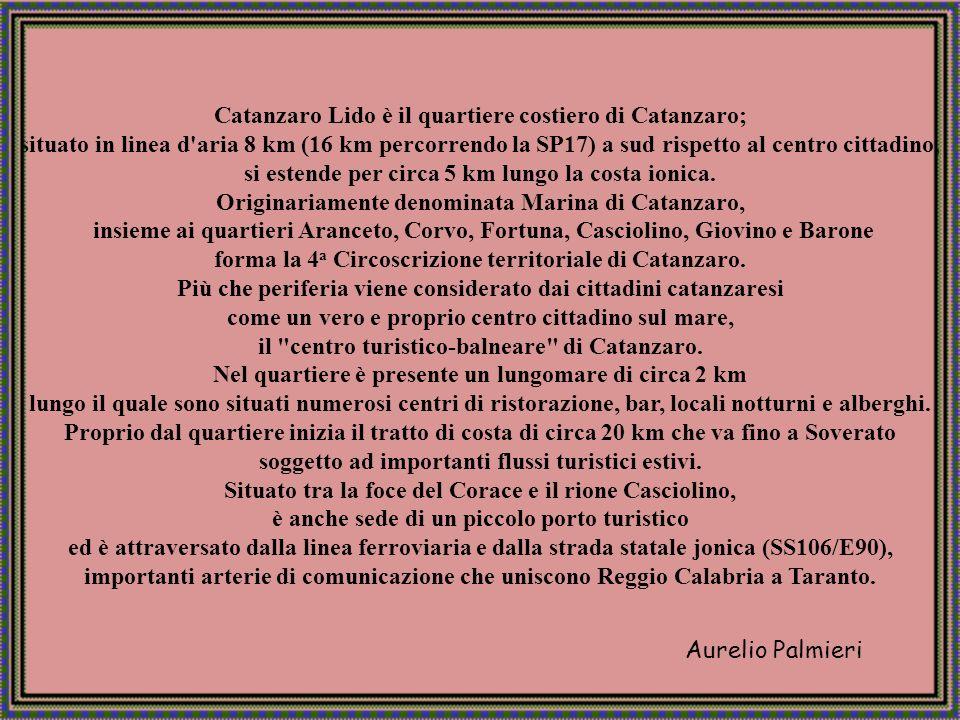 Aurelio Palmieri Catanzaro Lido - lungomare
