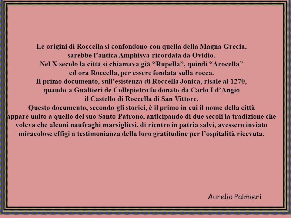 Aurelio Palmieri ROCCELLA IONICA