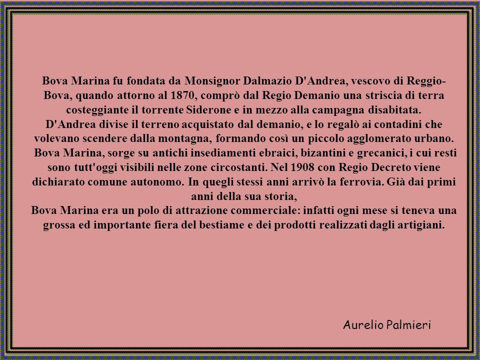 Aurelio Palmieri Bova Marina