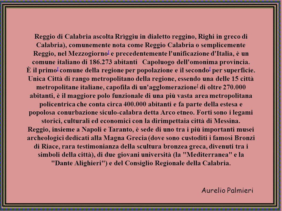 Aurelio Palmieri Reggio Calabria