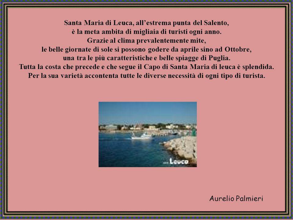 Aurelio Palmieri Santa Maria di Leuca, allestrema punta del Salento, è la meta ambita di migliaia di turisti ogni anno.