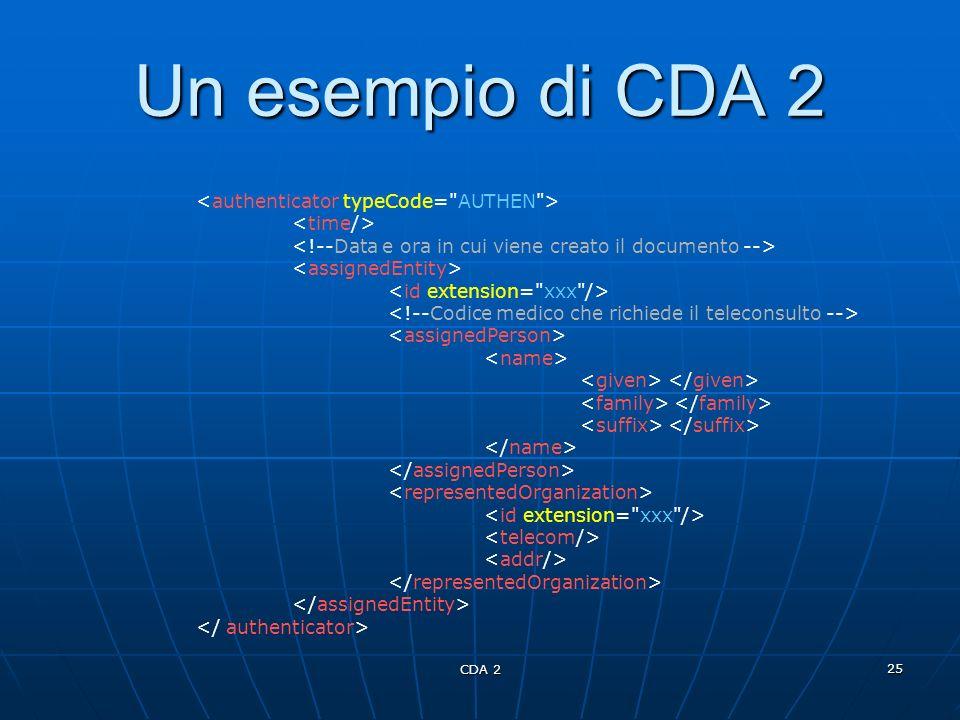 CDA 2 25 Un esempio di CDA 2