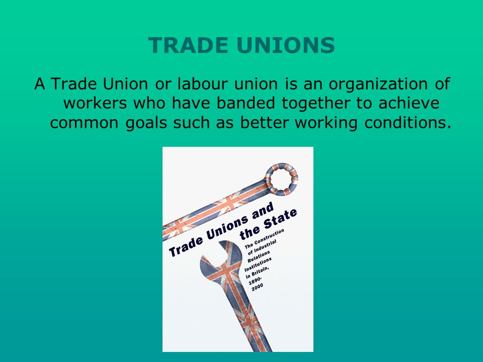 Activities of trade unions vary, but may include: Provision of benefits to members Collective bargaining Industrial action Political activity