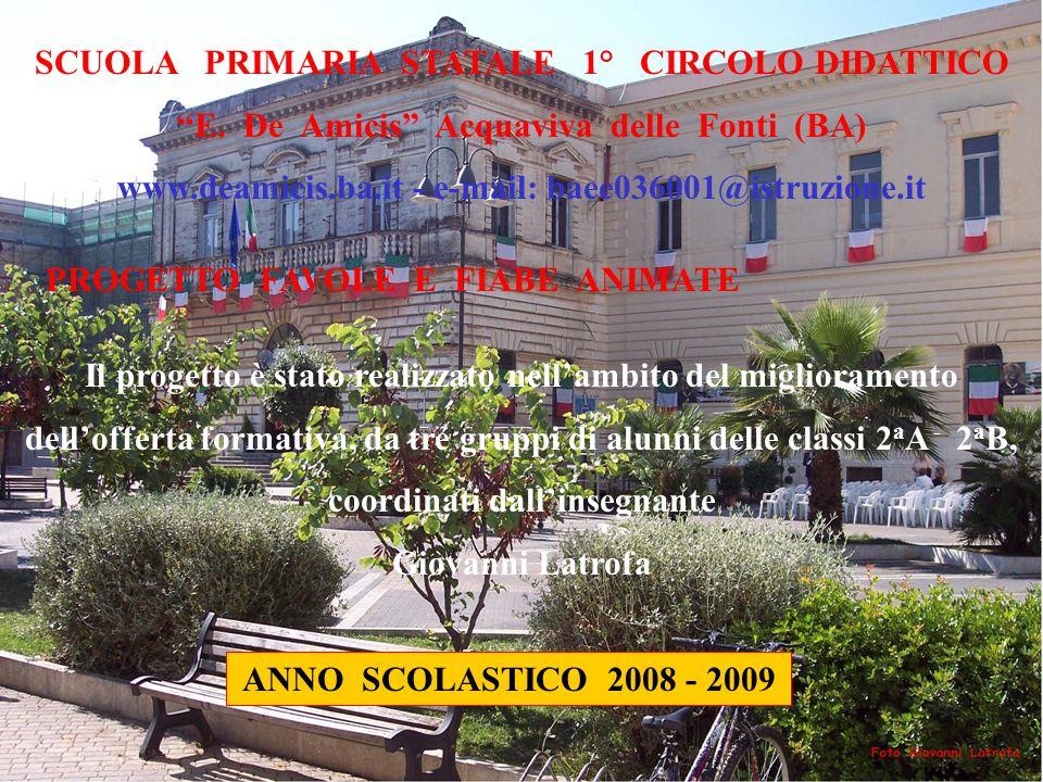 SCUOLA PRIMARIA STATALE 1° CIRCOLO DIDATTICO E.