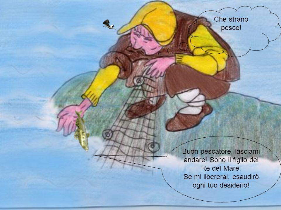 Cera una volta un povero pescatore che abitava in unumile casa vicino al mare.