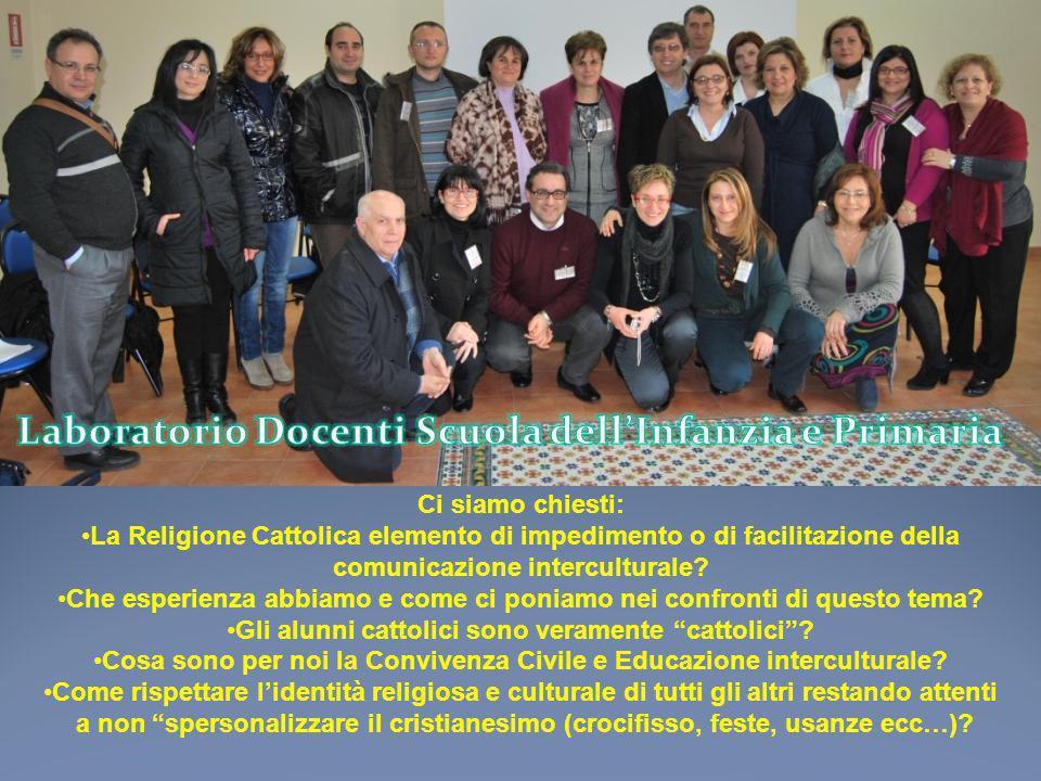 Ci siamo chiesti: La Religione Cattolica elemento di impedimento o di facilitazione della comunicazione interculturale? Che esperienza abbiamo e come