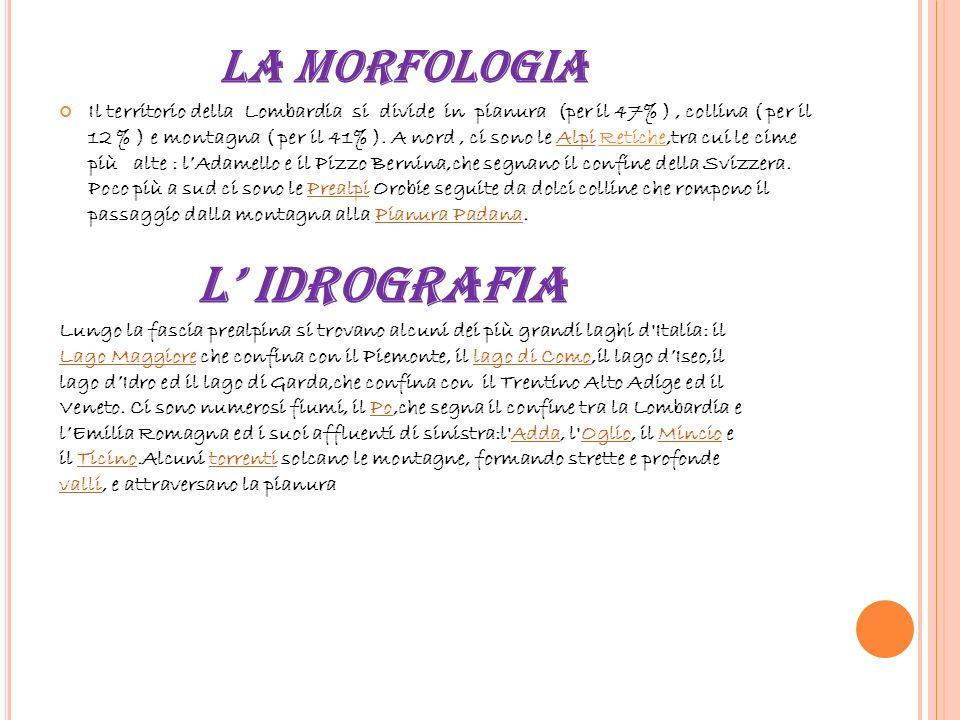 LasuageografiaLasuageografia LA LOMBARDIA