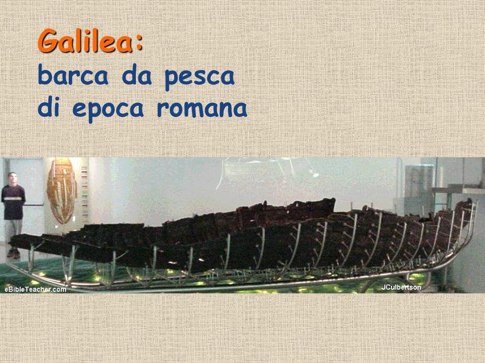 Galilea: Galilea: barca da pesca di epoca romana