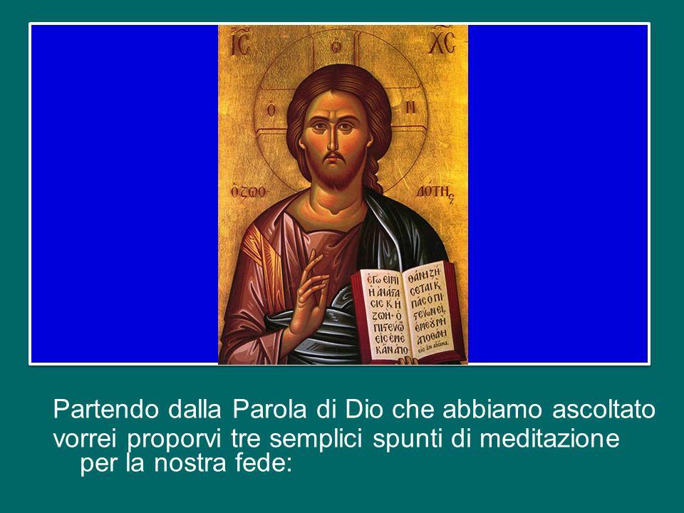 questa celebrazione ha un nome molto bello: il Vangelo della Vita. Con questa Eucaristia, nellAnno della fede, vogliamo ringraziare il Signore per il