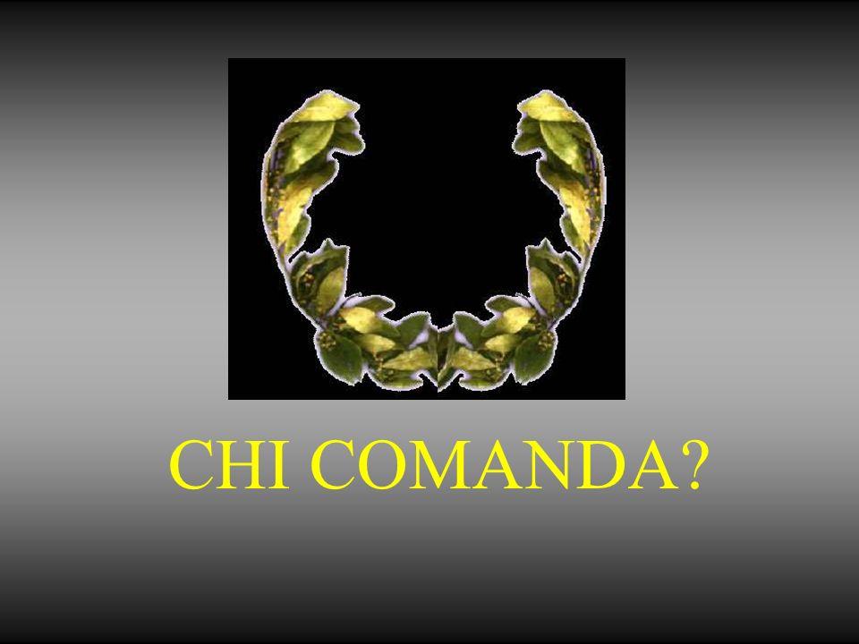 CHI COMANDA?