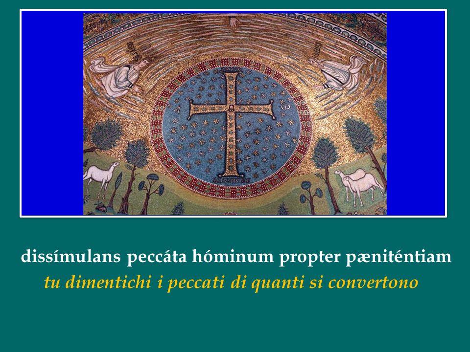 Seguendo lantichissima tradizione romana delle stationes quaresimali, ci siamo radunati oggi per la Celebrazione dellEucaristia.