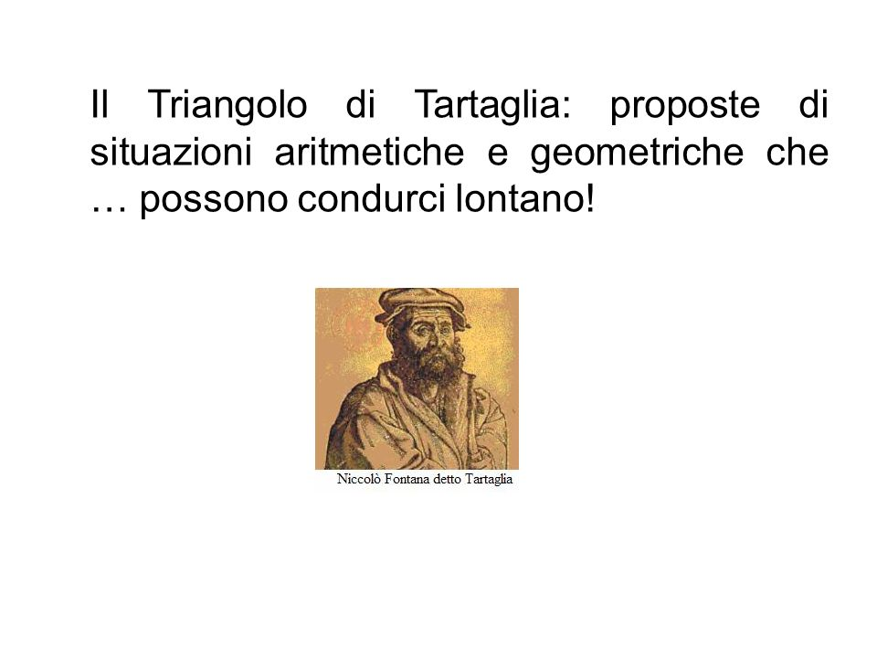 Chi era Niccolò Fontana detto Tartaglia.