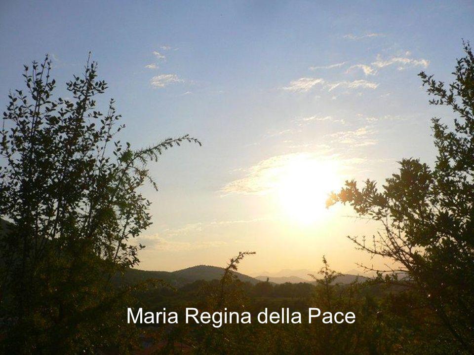 La fede e la carità di Maria inonda il cuore di ogni pellegrino perché anche lui possa avere il cuore di Maria per credere alladempimento delle promes