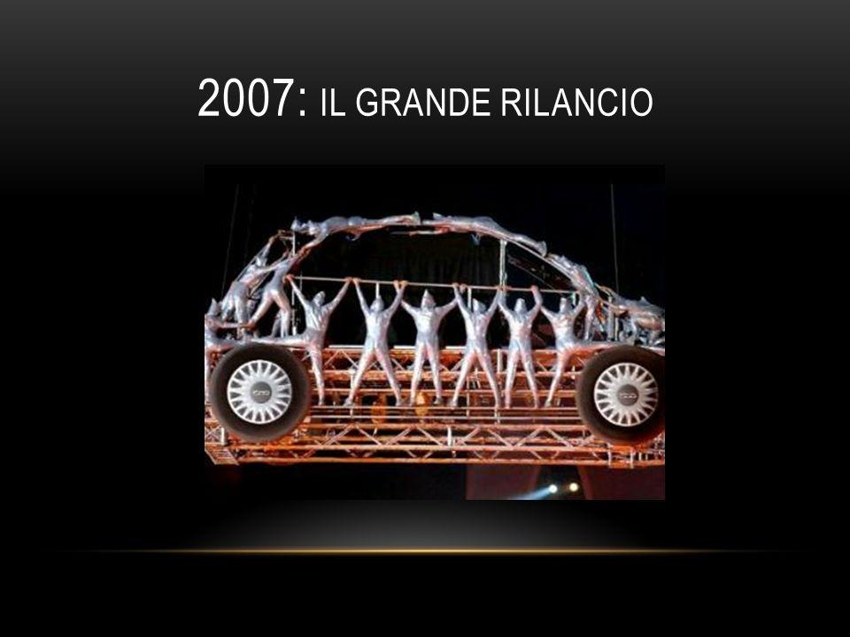 2007: IL GRANDE RILANCIO