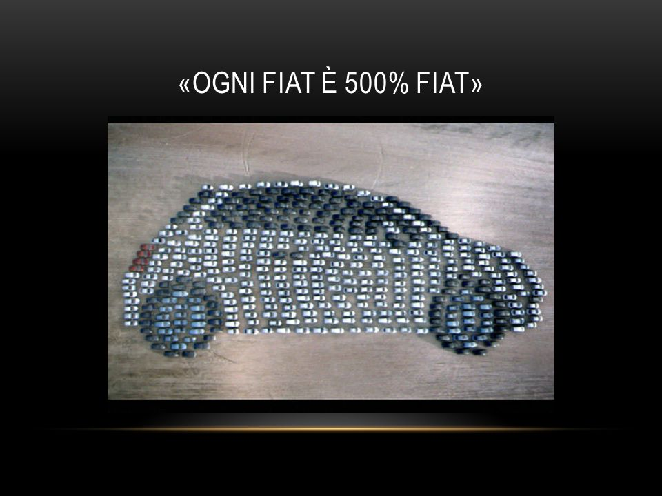 «OGNI FIAT È 500% FIAT»