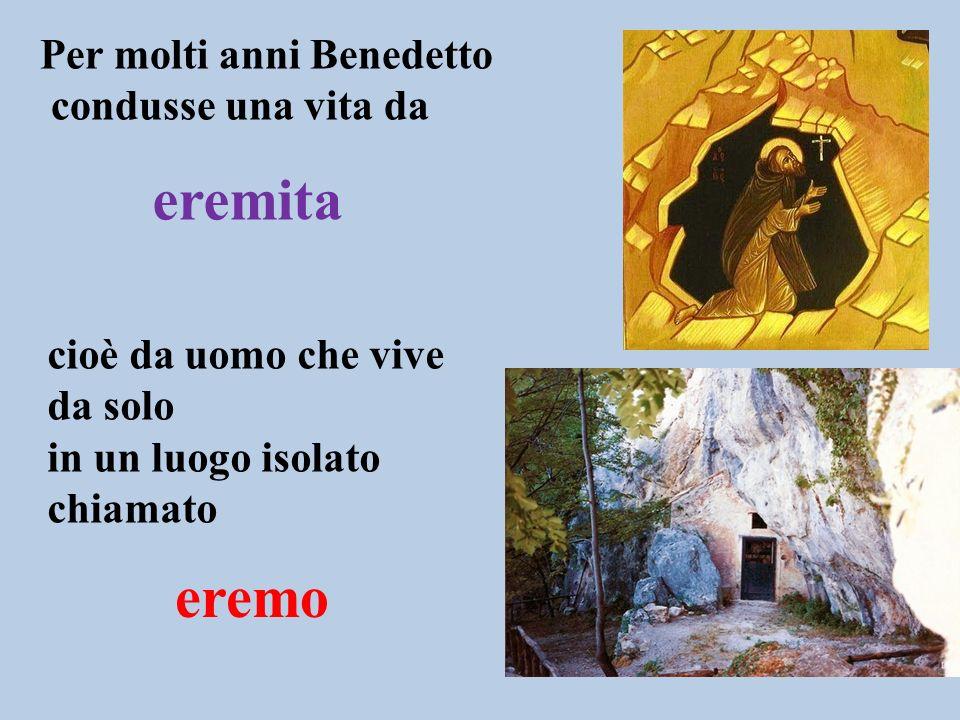 (480 circa – 547 d.C.) Monaco e santo italiano Fondatore dellordine dei benedettini Patrono dEuropa