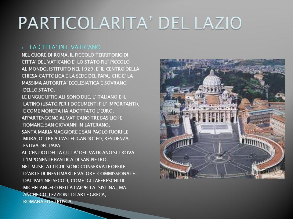 LA CITTA DEL VATICANO NEL CUORE DI ROMA, IL PICCOLO TERRITORIO DI CITTA DEL VATICANO E LO STATO PIU PICCOLO AL MONDO.