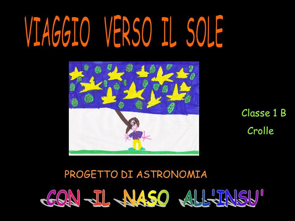 PROGETTO DI ASTRONOMIA Classe 1 B Crolle