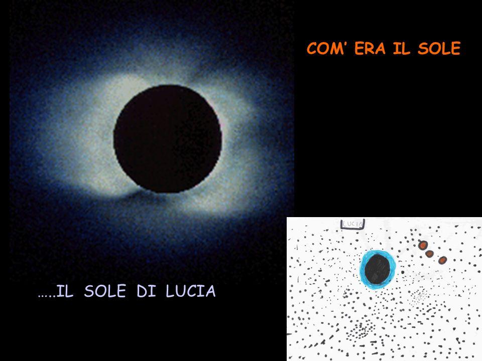 …..IL SOLE DI LUCIA COM ERA IL SOLE