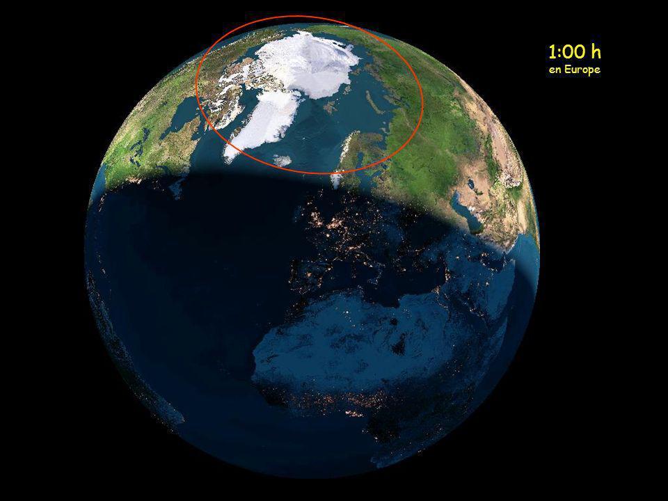 MEZZANOTTE IN EUROPA (IL SOLE SI TROVA SULLA PARTE NORD DELLA SCANDINAVIA)