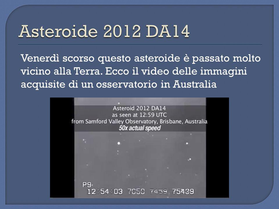 Venerdì scorso questo asteroide è passato molto vicino alla Terra. Ecco il video delle immagini acquisite di un osservatorio in Australia