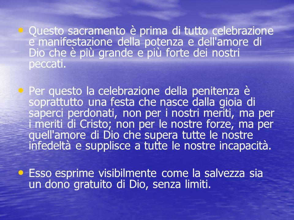 Per iniziare … Il sacramento della penitenza, conosciuto più comunemente come confessione, è senza dubbio il più difficile da celebrare e da vivere. E