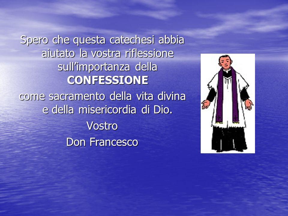 Per approfondire … Dal Catechismo della Chiesa Cattolica 1484 La confessione individuale e completa, con la relativa assoluzione, resta l'unico modo o