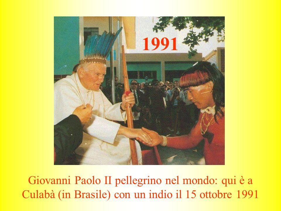Giovanni Paolo II a Lourdes il 15 agosto 2004 2004