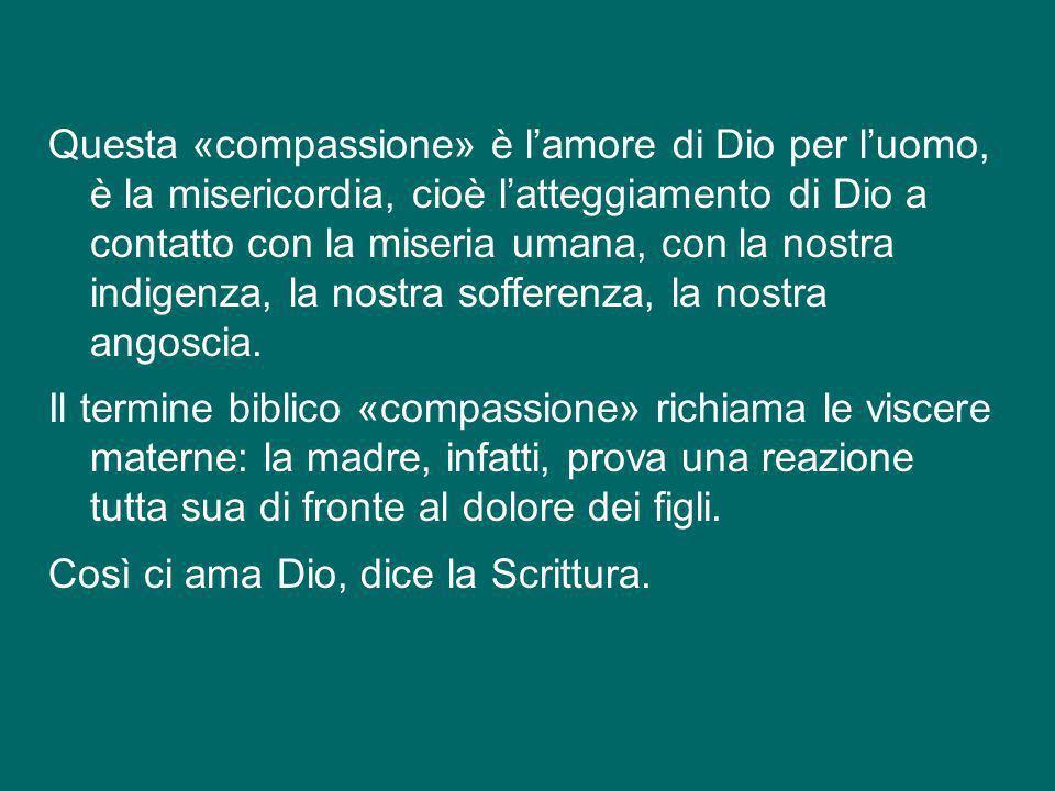 Lo sguardo di Gesù si fissa subito sulla madre in pianto. Dice levangelista Luca: «Vedendola, il Signore fu preso da grande compassione per lei»