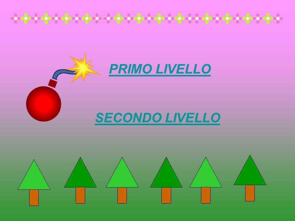 ISTRUZIONI Il gioco è composto da due livelli, puoi scegliere con quale livello giocare.