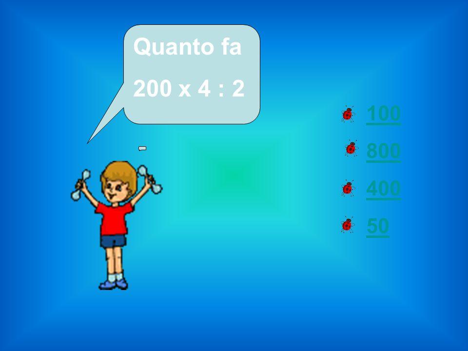 Proprietà commutativa Proprietà distributiva Proprietà invariantiva Proprietà associativa Per semplificare la divisione 1400 : 700 quale proprietà conviene applicare?