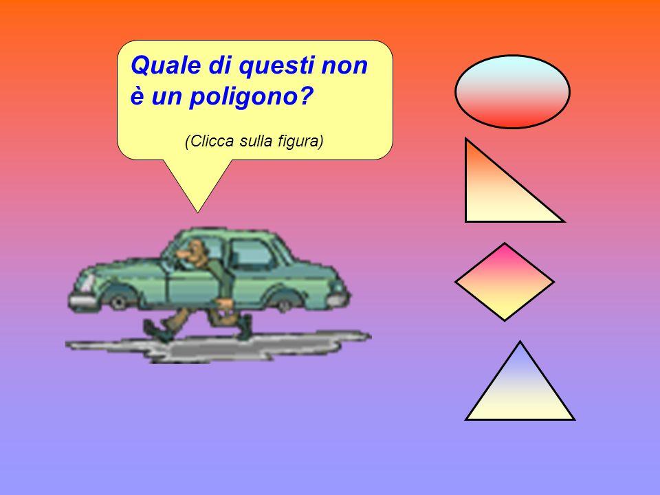 Quale di questi è un poligono equilatero? (Clicca sulla figura)