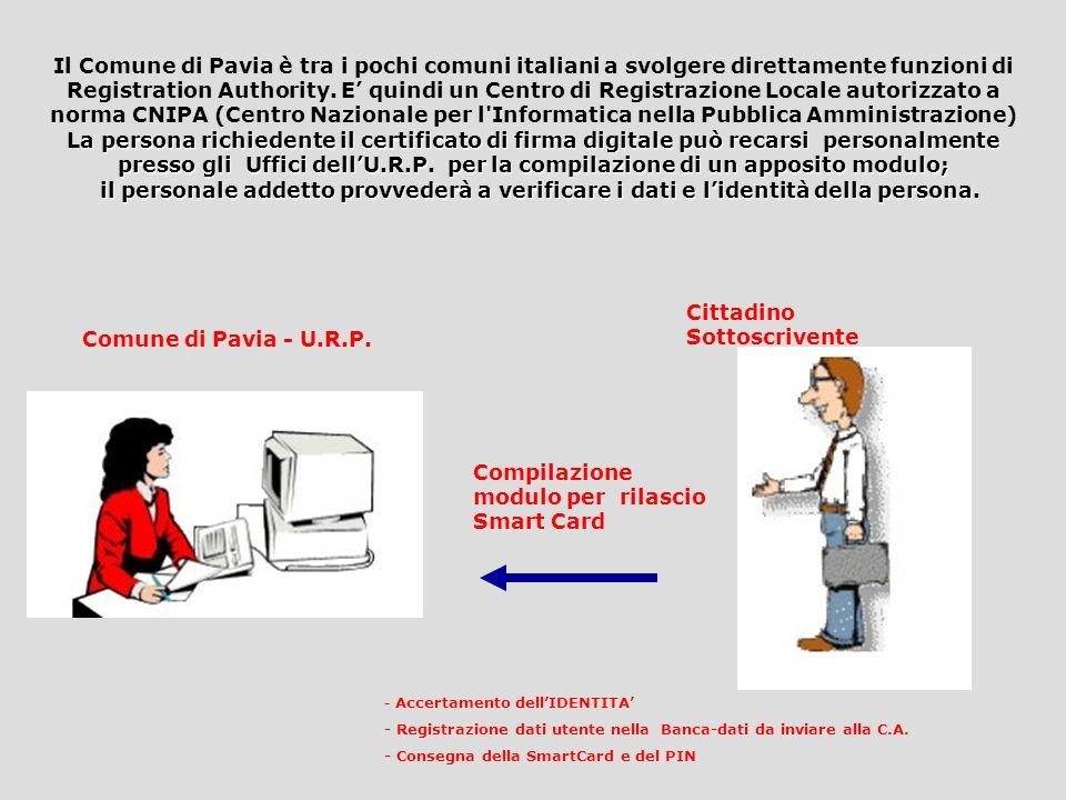 La firma elettronica per Pavia Digitale Progetto Firma&Clic