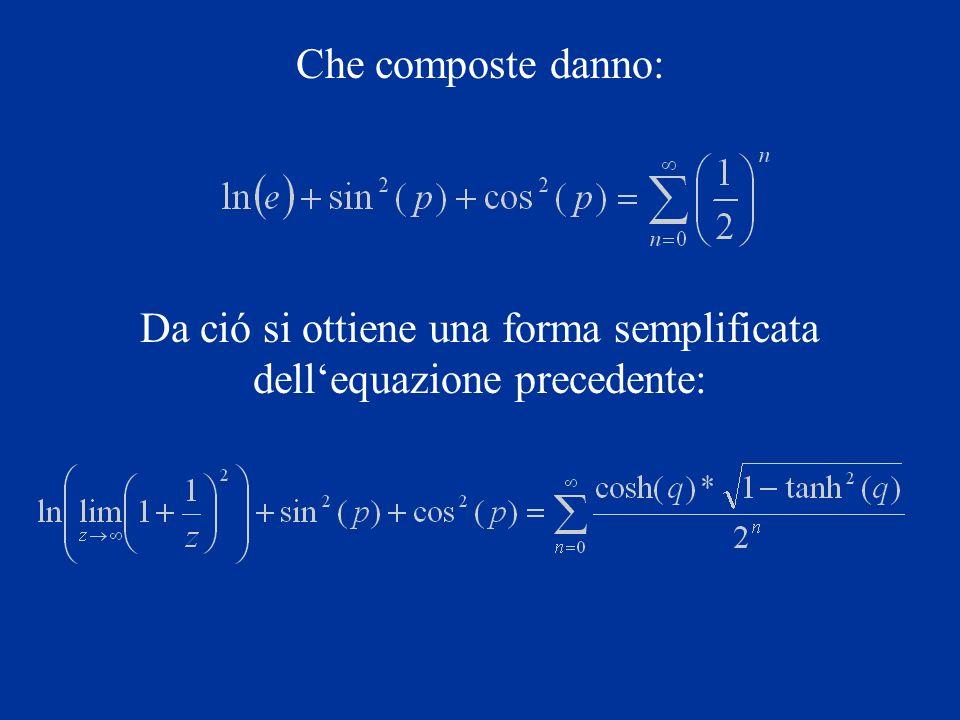 Se inoltre consideriamo che: e ci ricordiamo che la matrice inversa della trasposta corrisponde alla trasposta dellinversa, possiamo, riferendoci ad uno spazio unidimensionale, introdurre unulteriore semplificazione per mezzo del vettore X, e cioé: