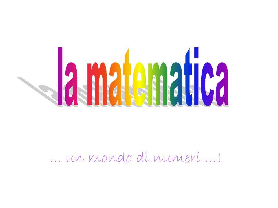 … un mondo di numeri …!