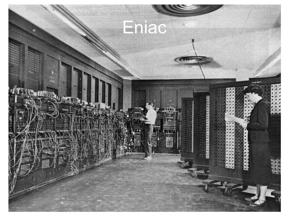 1947 – Viene inventato il transistor, destinato a sostituire il relè e le valvole termoioniche.