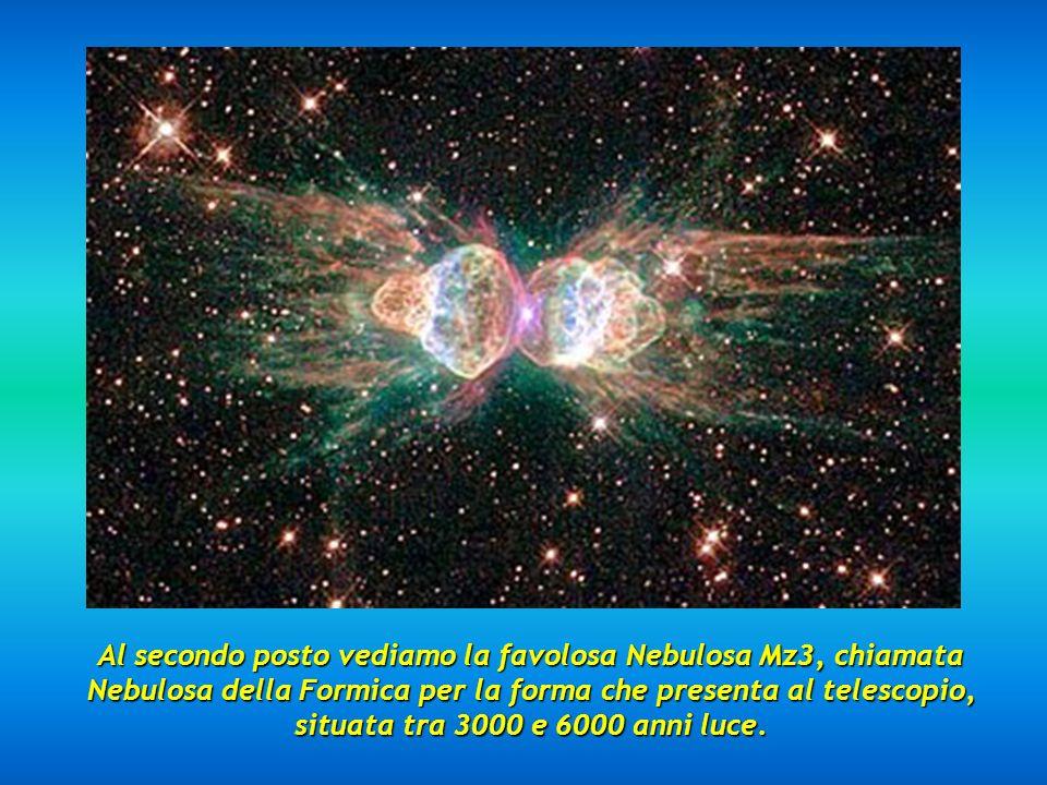 Qui vediamo la Galassia del Sombrero, chiamata anche M 104 nel catalogo Messier, distante 28 milioni di anni luce.