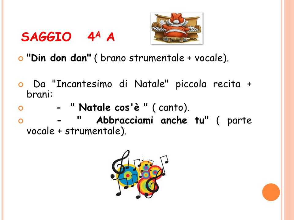 SAGGIO 4 A A