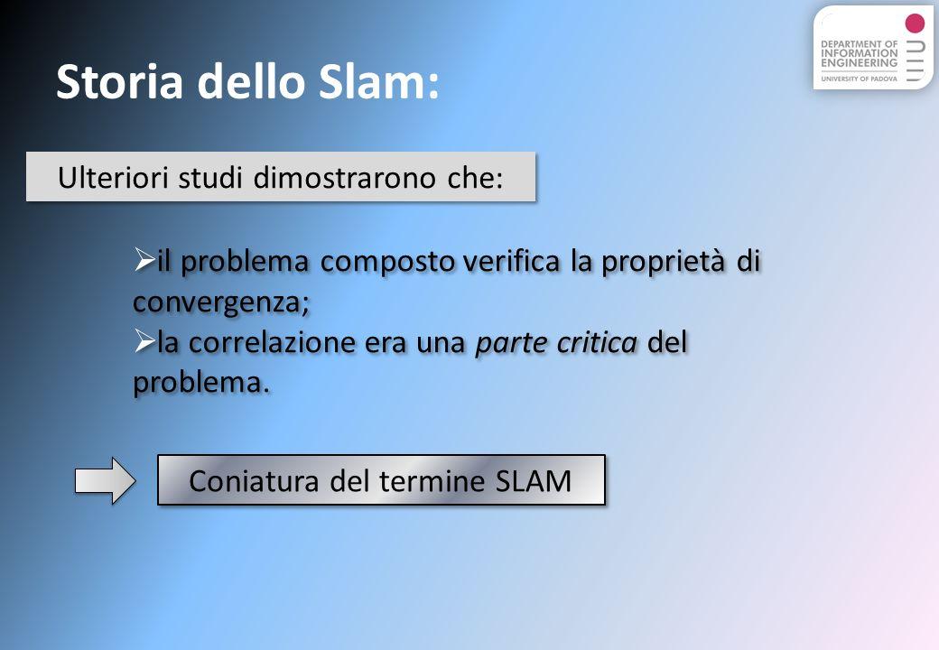 Algoritmi e Simulazioni: Lalgoritmo proposto nel file Slam.m : Questo algoritmo utilizza solamente il filtro di Kalman esteso.
