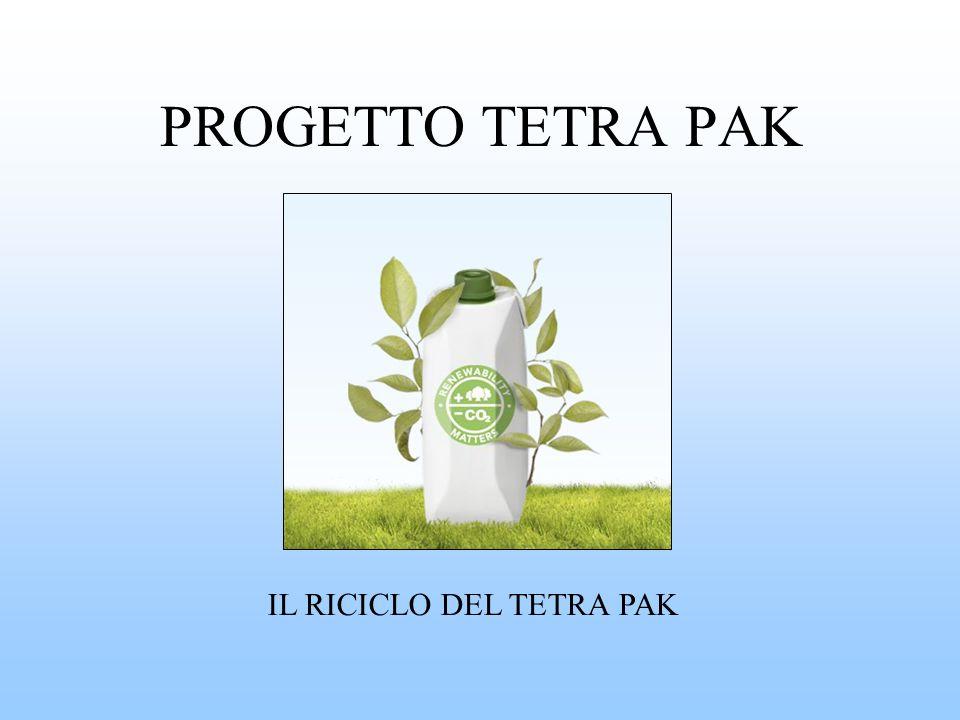 PROGETTO TETRA PAK IL RICICLO DEL TETRA PAK