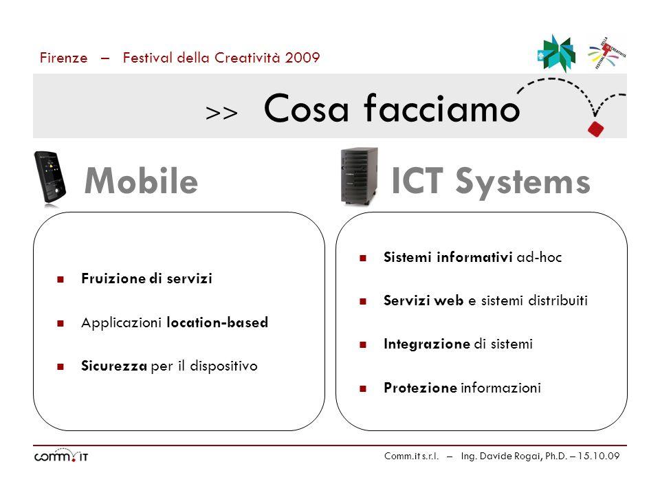 Firenze – Festival della Creatività 2009 Comm.it s.r.l.