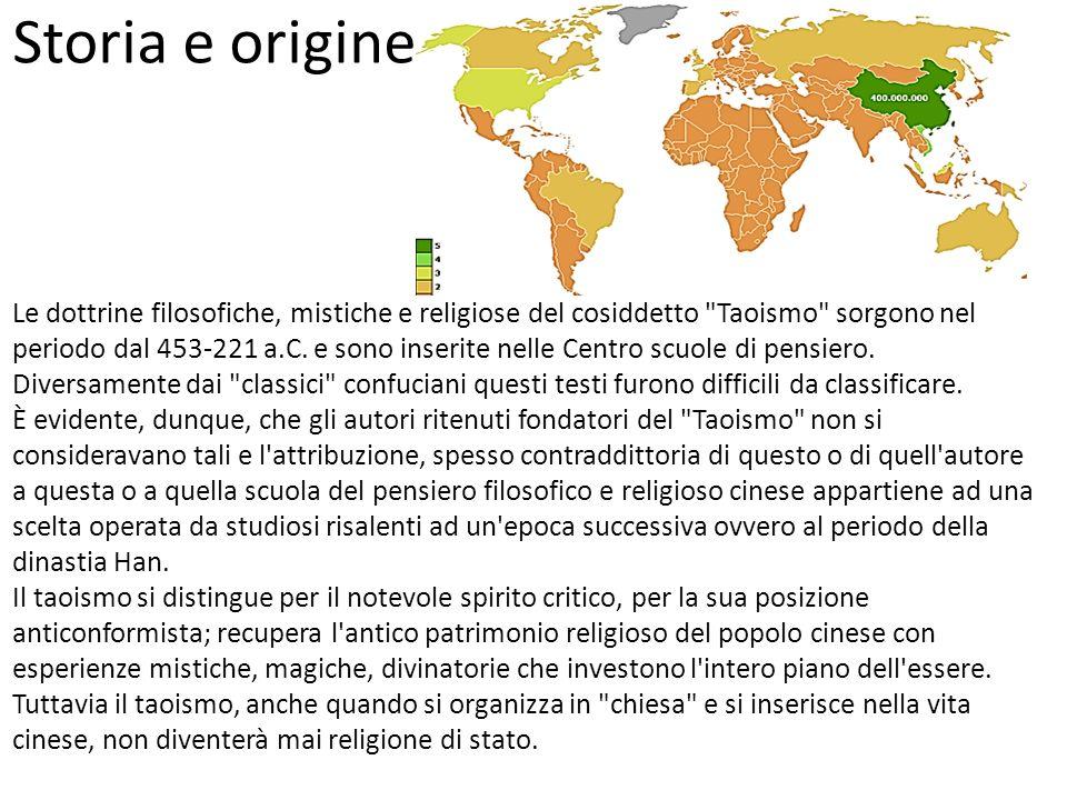 Storia e origine Le dottrine filosofiche, mistiche e religiose del cosiddetto